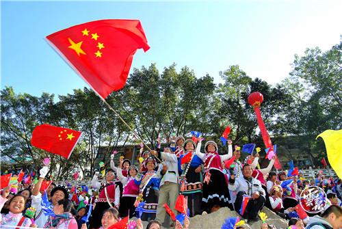 """怒江各族人民""""感恩共产党感谢总书记""""——坚定不移跟党走 建设家乡同奋进"""