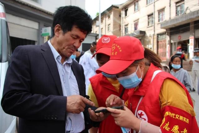 """""""志愿红""""让疫苗接种更有温度"""