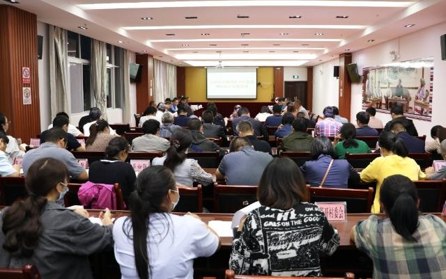 贡山县创建国家卫生县城迎来州级评估2.jpg