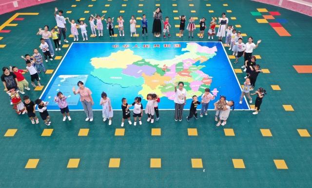 """泸水市幼儿园开展""""十月泸幼 告白祖国""""国庆主题活动。"""